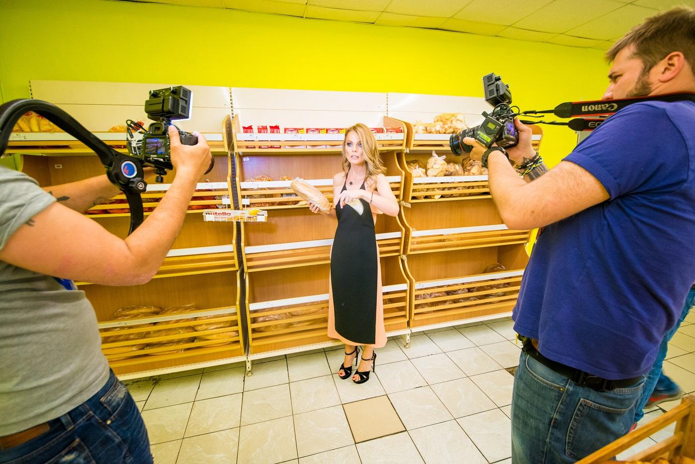 Ольга Фреймут проверяет супермаркеты