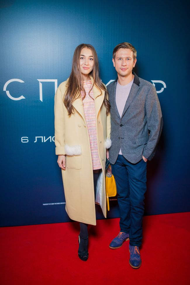 Дмитрий Ступка с девушкой Катериной