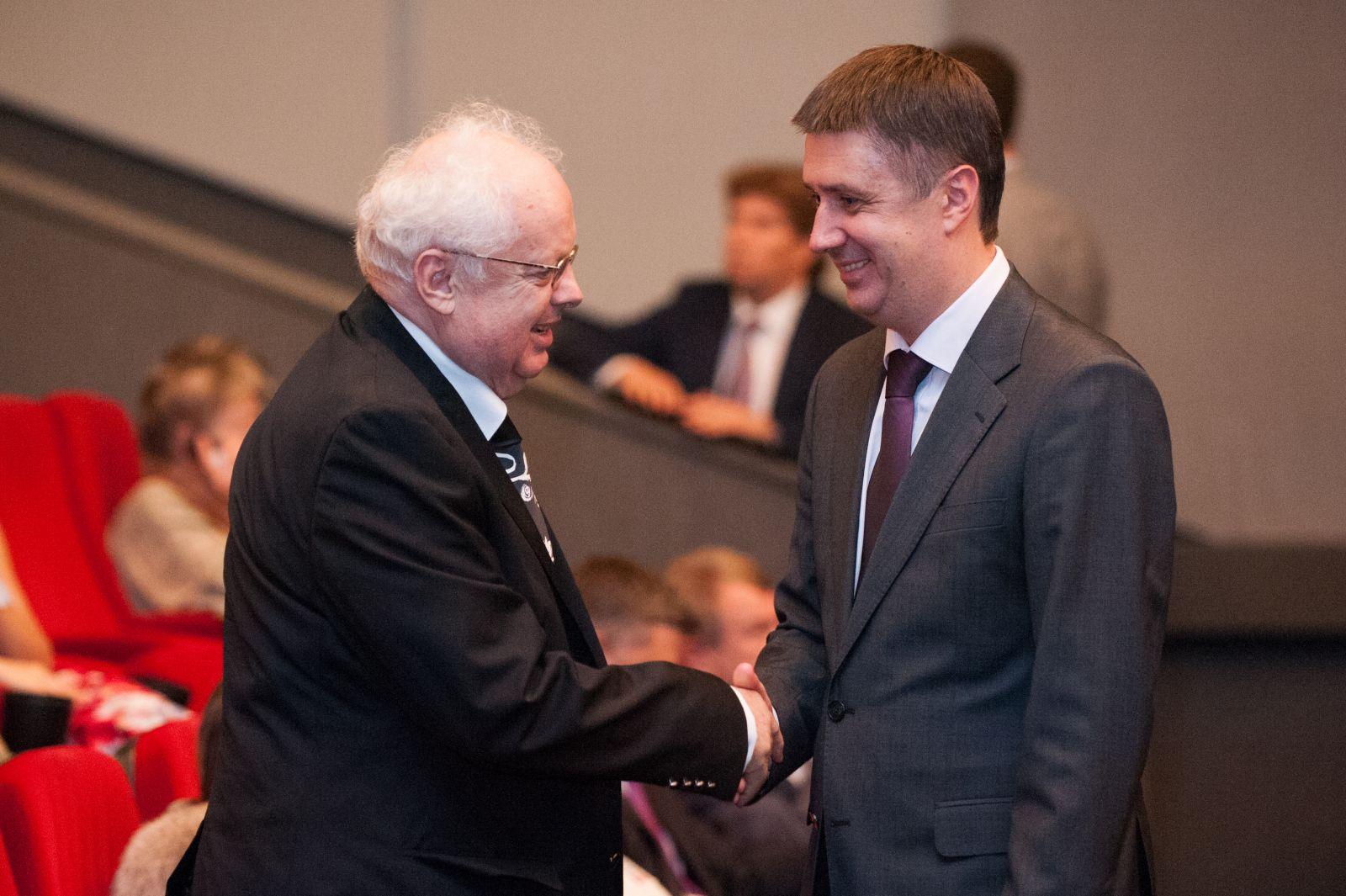 Мирослав Скорик и Вячеслав Кириленко