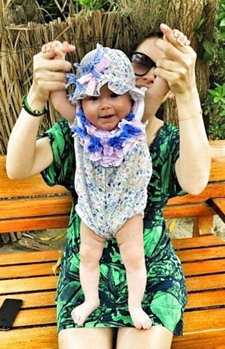 Тата Бондарчук впервые показала фото дочери Маргариты внучки Федора Бондарчука