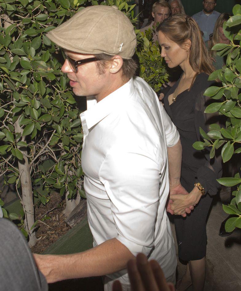 Анджелина Джоли и Брэд Питт сходили на свидание