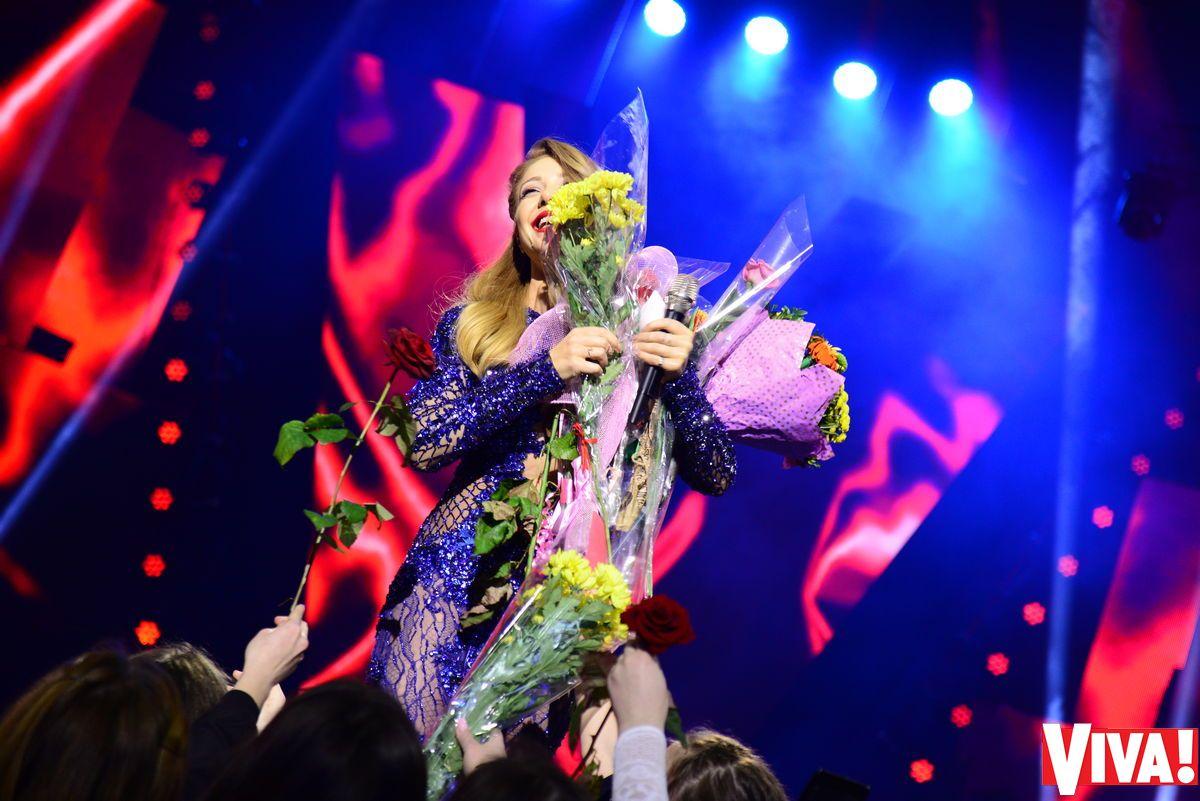 Выступление Тины Кароль на церемонии «Viva! Самые красивые-2017»