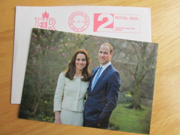 В сети появился новый официальный портрет Кейт Миддлтон и принца Уильяма