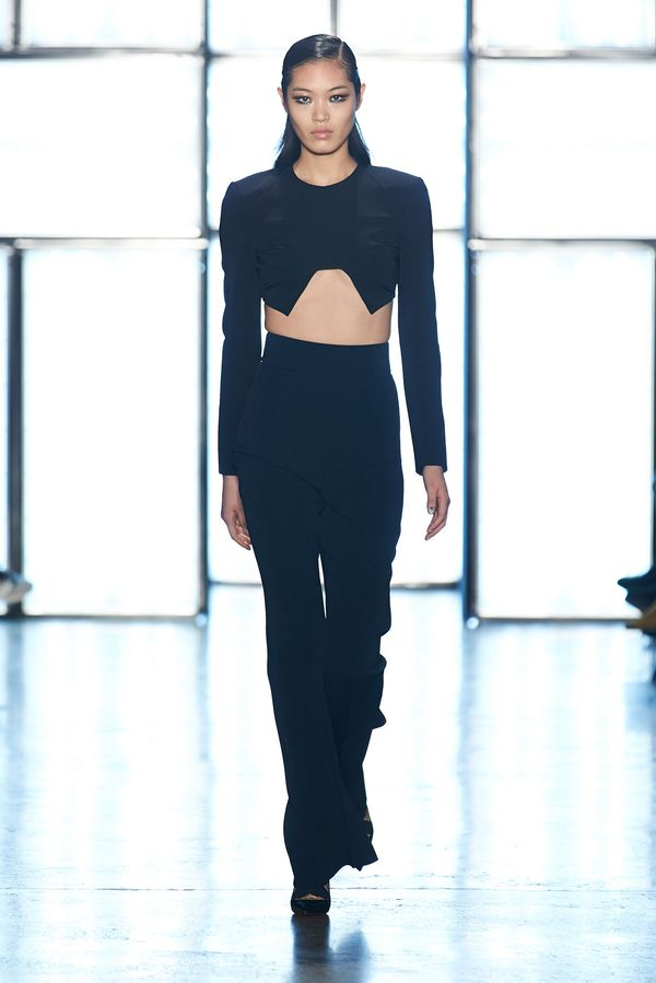 Cushnie et Ochs Fall/Winter 2015. Hair Design by Antonio Corral Calero for Moroccanoil