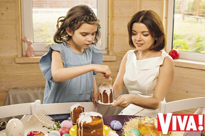 Маричка Падалко с детьми снялась в пасхальной фотосессии