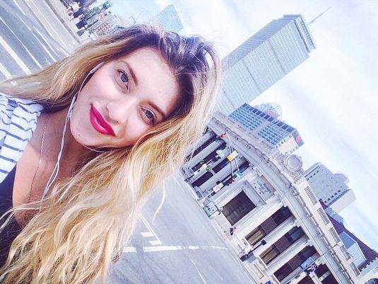 Регина Тодоренко отметила день рождения в Бостоне