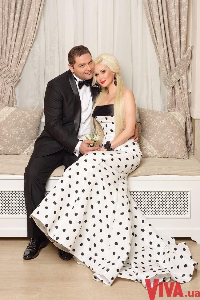 Катя Бужинская и ее муж Дмитрий
