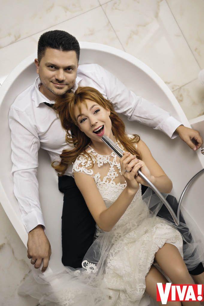 Светлана Тарабарова и ее муж Алексей Бондарь
