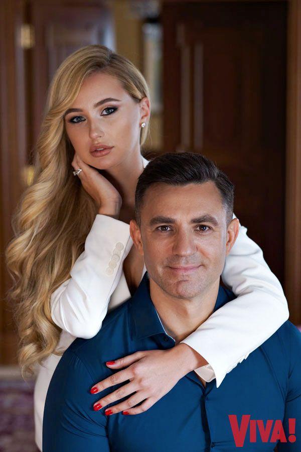 Николай Тищенко с женой Аллой и сыном Давидом