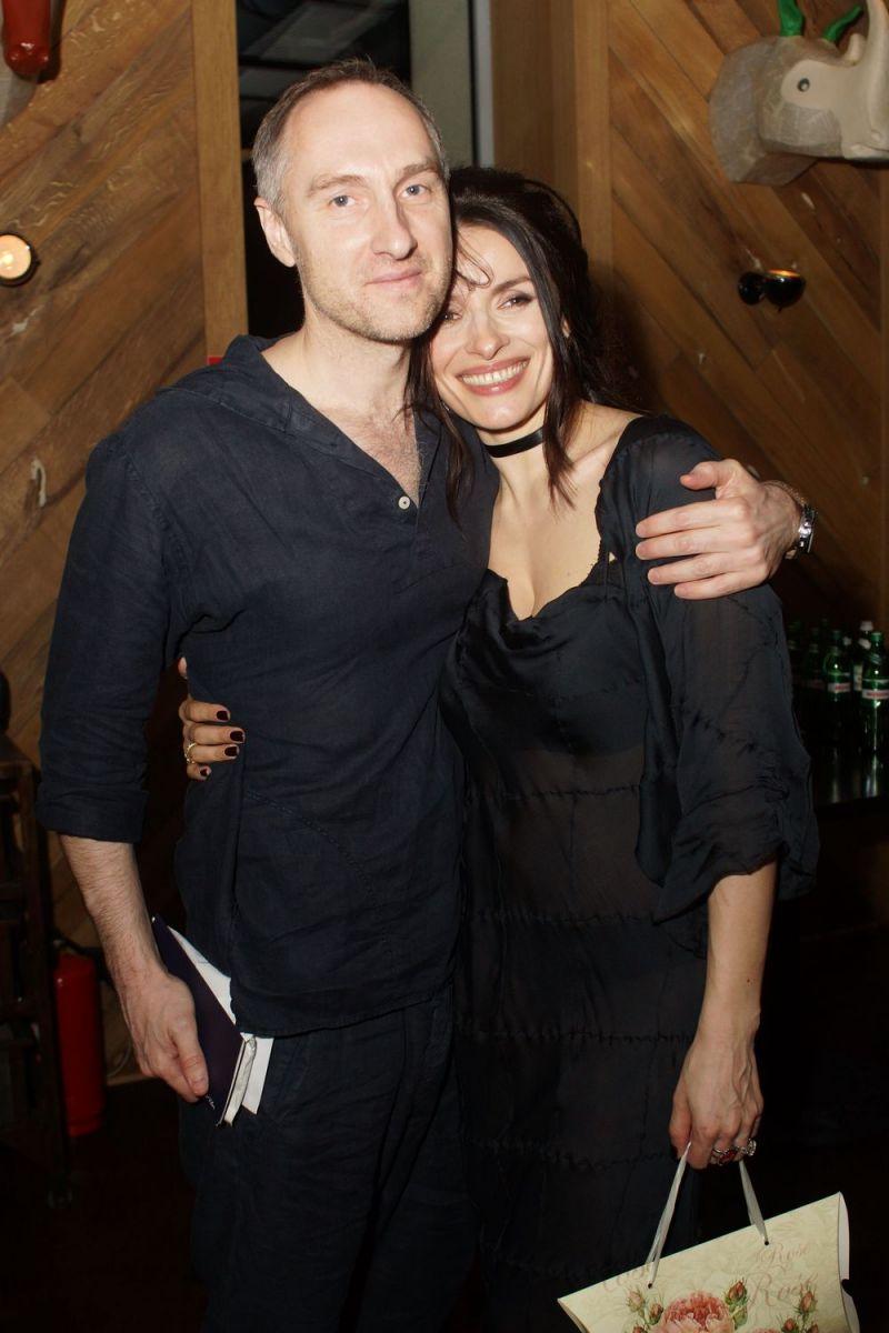 Надежда Мейхер с мужем Михаилом Уржумцевым