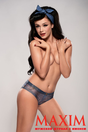 Мария Яремчук разделась для мужского журнала