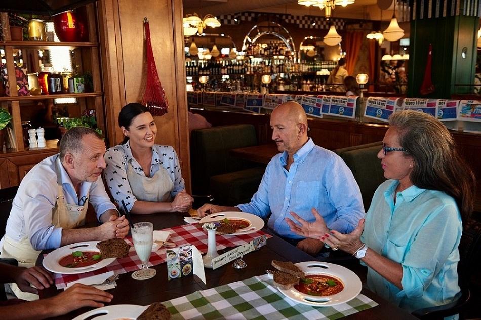 """Как Тарабарова, Лобода и посол Испании оценивали гаспачо """"по-украински"""""""