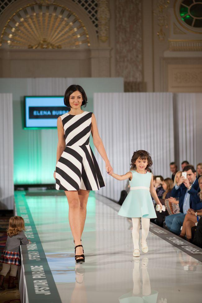 Знаменитые мамы вышли на подиум в рамках фэшн-показа Elena Burba