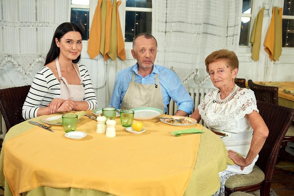 Рецепт камбалы с овощным жульеном от Саввы Либкина и Люды Барбир