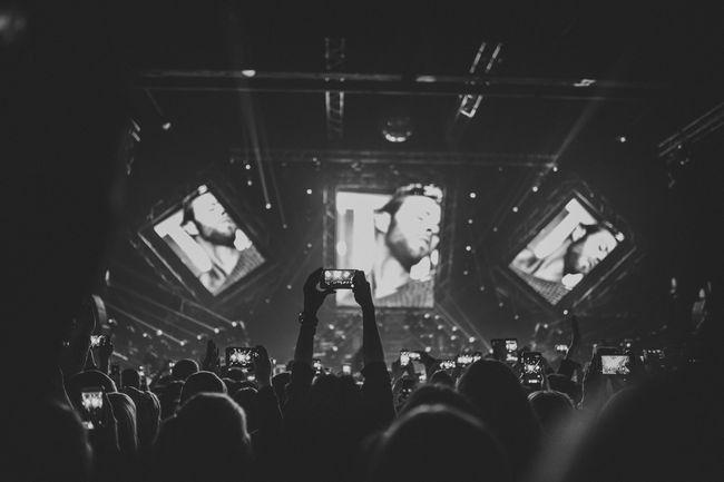 Макс Барских на концерте в Киеве