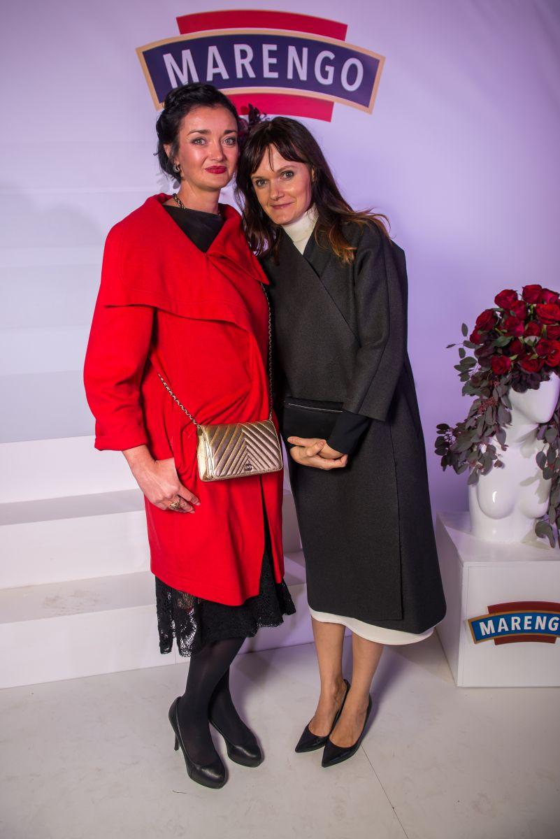 Татьяна Денисова и Соня Забуга