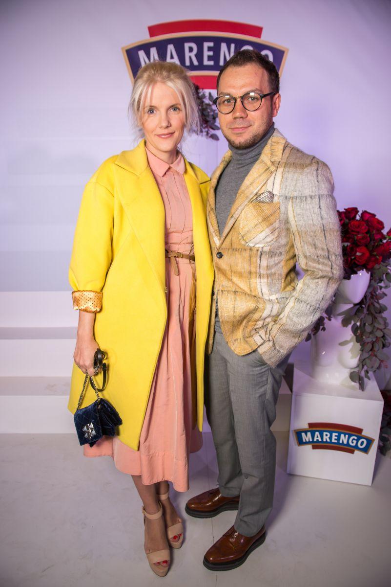 Андрей Тан с женой Алиной