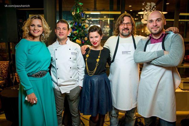 Украинские звезды приготовили эклер-рекордсмен!