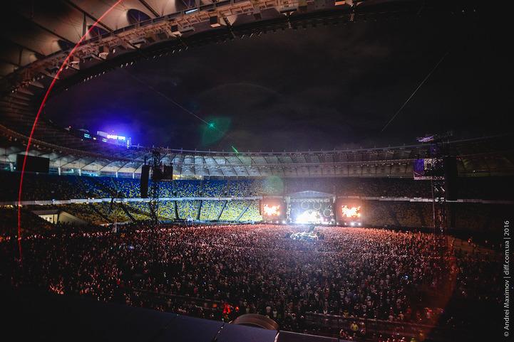 Виталий Кличко натанцевался на концерте RHCP в Киеве