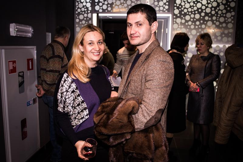 Ахтем Сейтаблаев с женой Иванной Дядюрой