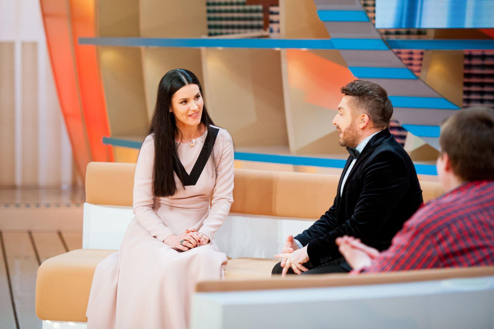 Маша Ефросинина на ток-шоу Говорить Україна довела до слез Алексея Суханова