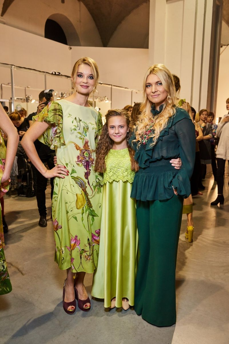 13-летняя девочка из Луганской области вышла на подиум Ukrainian Fashion Week 2016 (Фото)