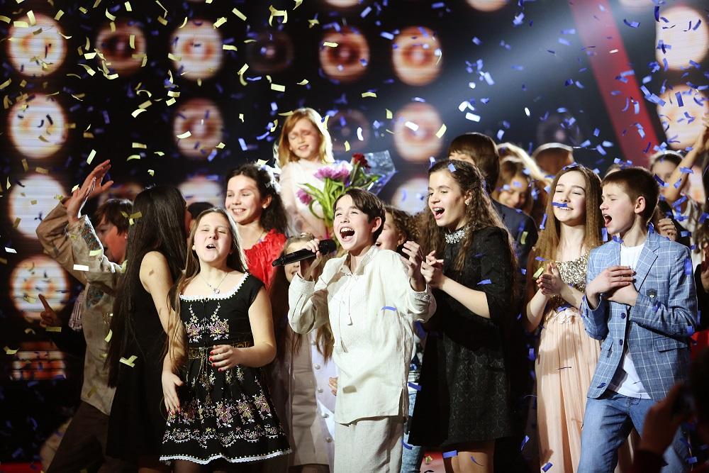 эмоциональный финал шоу Голос.Діти-2