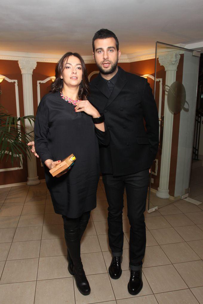 Иван Ургант и его жена Наталья Кикнадзе