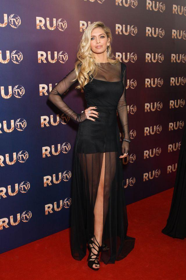 Красивые платья знаменитостей на Oscar 2013 Vanity Fair Party
