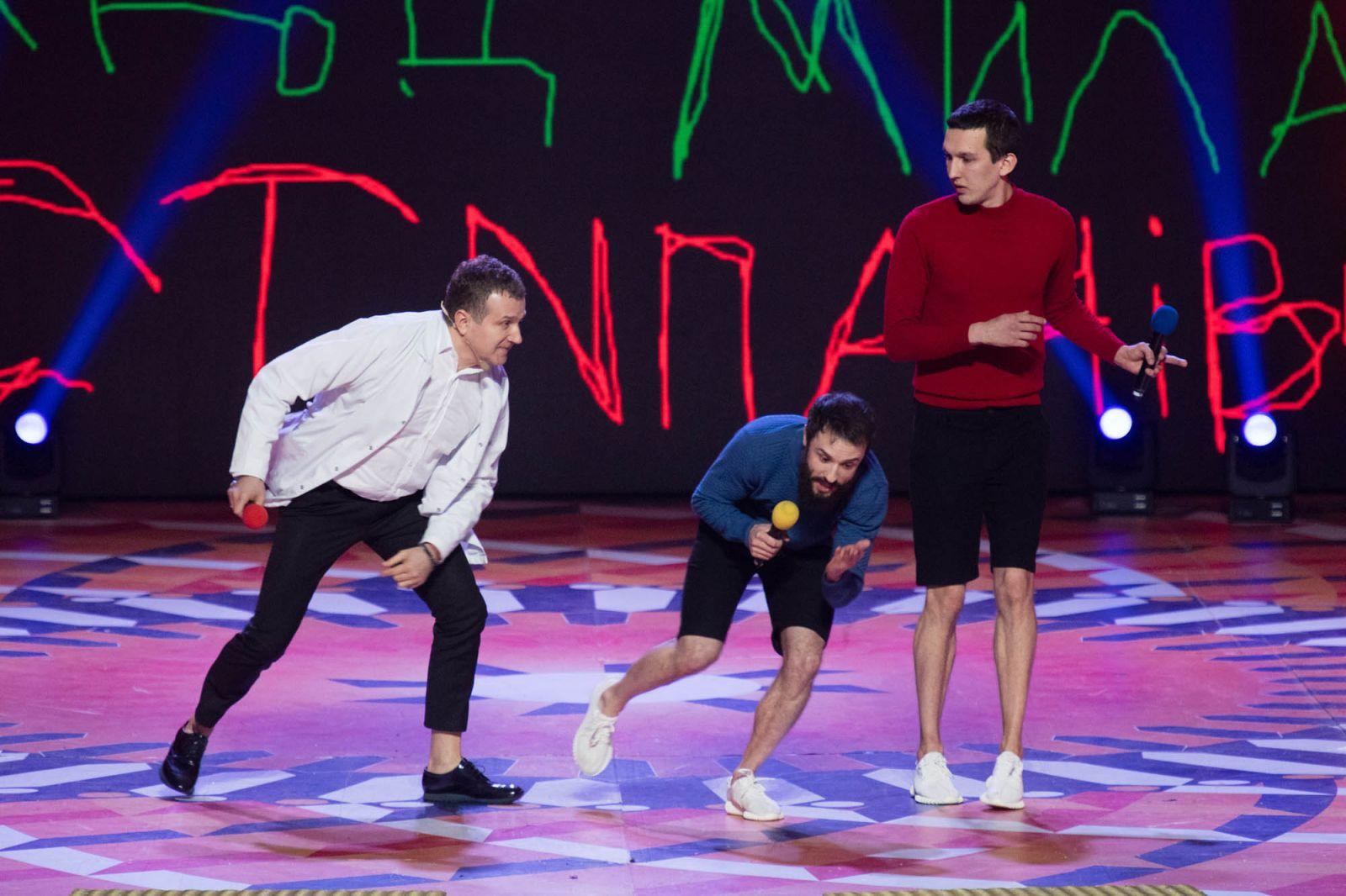 Владимир Зеленский продемонстрировал на сцене свою спортивную форму