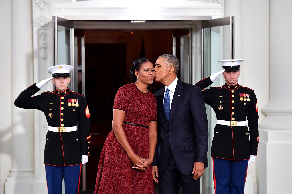 Четверть века совместно: 25 фото из брачной жизни Мишель иБарака Обамы