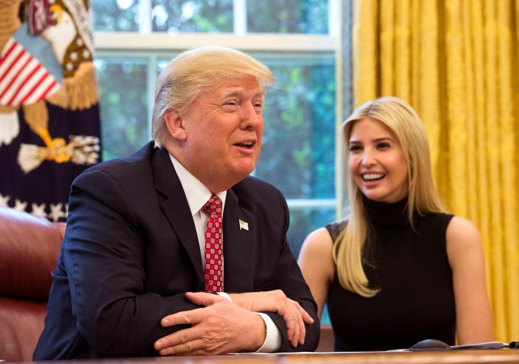 Иванка Трамп трогательно поздравила Дональда Трампа с днем рождения