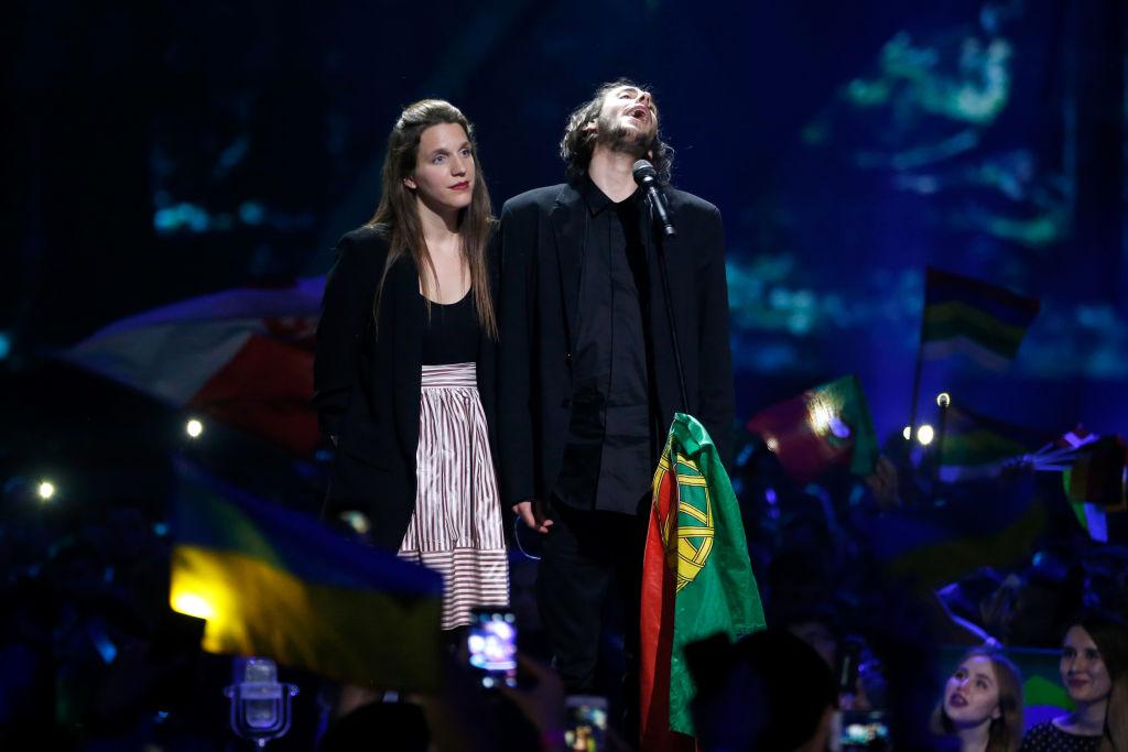 Так выглядит радость: выражения лица победителя Евровидения-2017 в финале шоу взорвали сеть