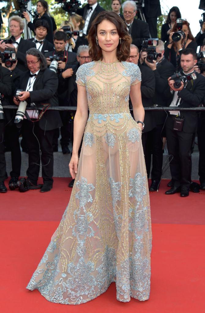 Сама нежность: Ольга Куриленко в роскошном платье от Elie Saab на красной дорожке в Каннах