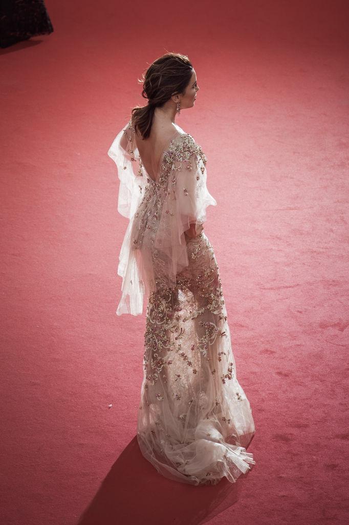 Канны-2017: Ева Лонгория засветила стройную фигуру в прозрачном платье