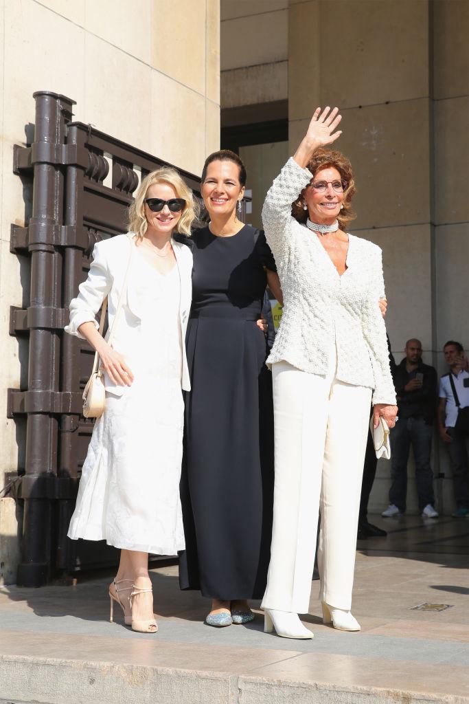 Софи Лорен, Кейт Уинслет, Наоми Уоттс блистают на показе Armani