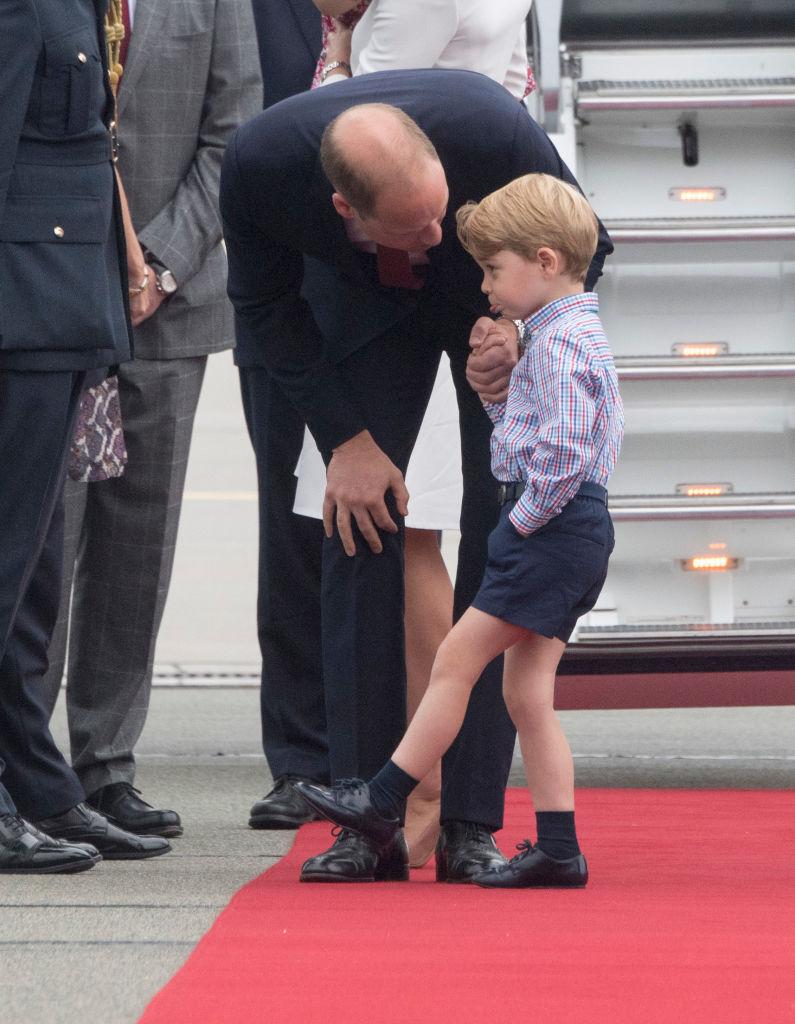 Королевские дети тоже плачут: принц Уильям рассказал о сложностях отцовства