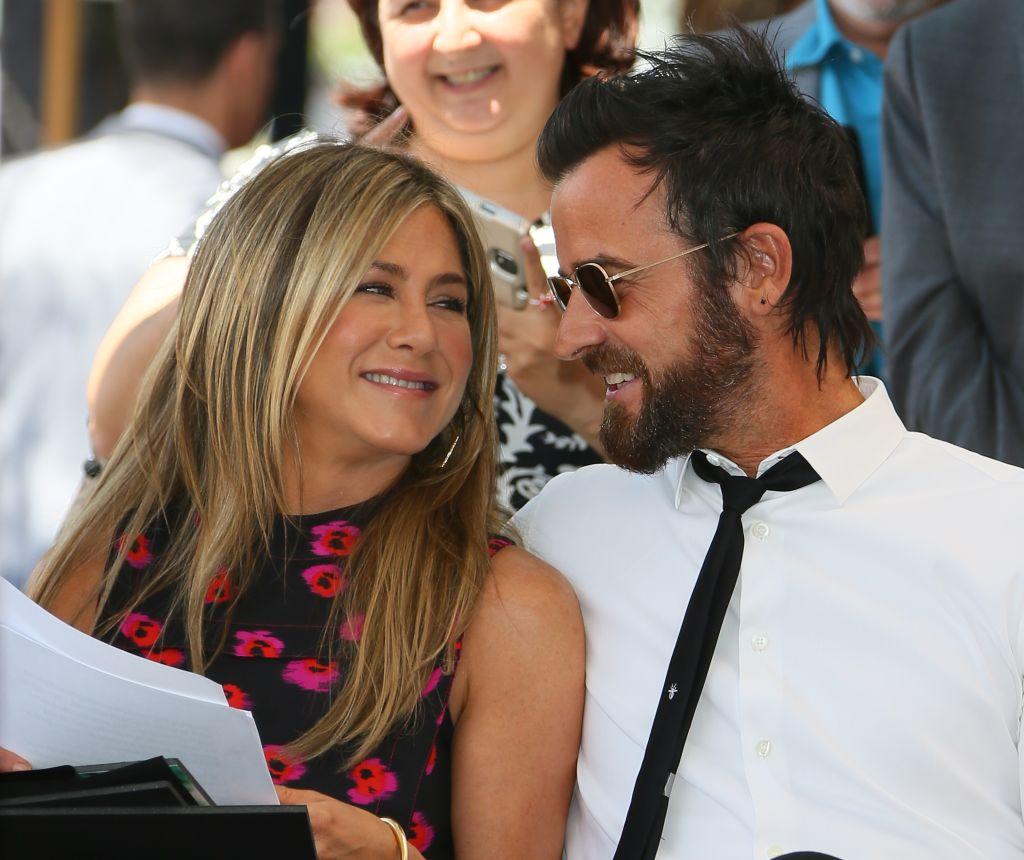 Джастин Теру опубликовал редкое фото с Дженнифер Энистон в честь годовщины свадьбы