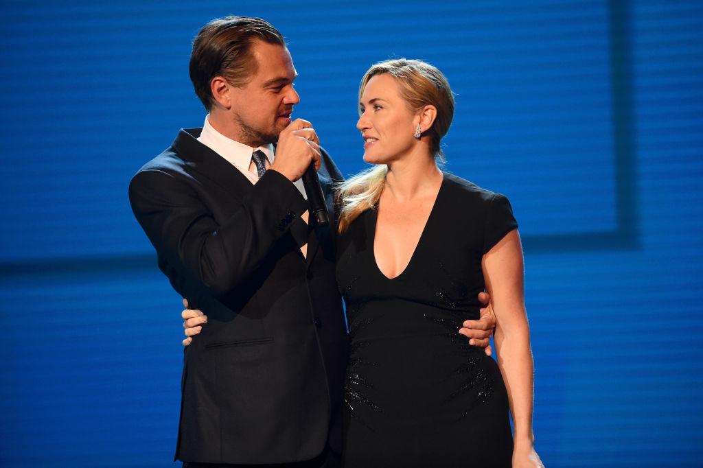 Снова вместе: Леонардо ДиКарио и Кейт Уинслет появились на благотворительном вечере