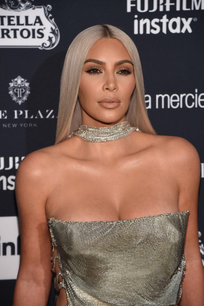 Женщина-бриллиант: Ким Кардашьян покорила публику сияющим нарядом