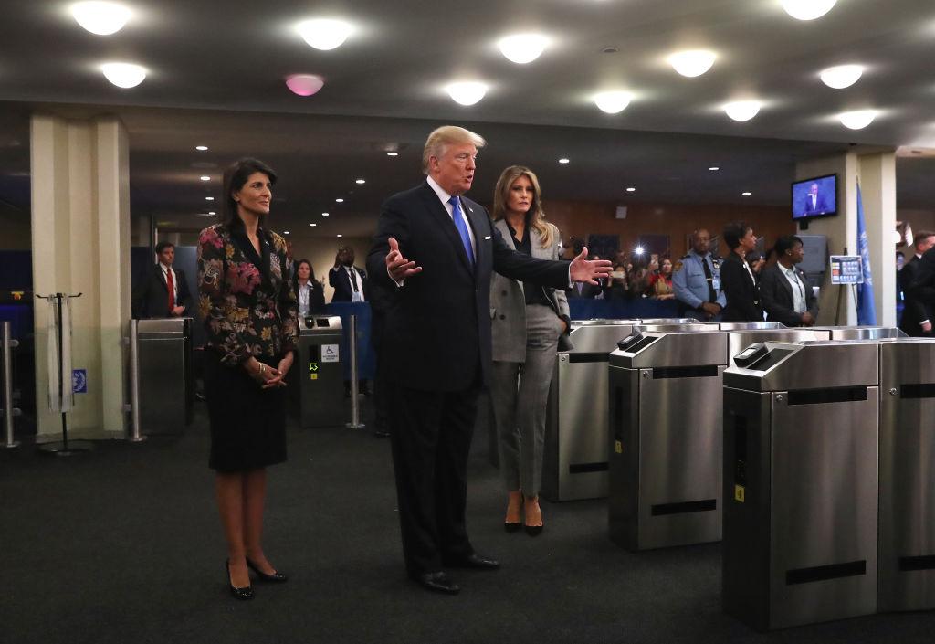 Леди-стиль: Мелания Трамп вышла в свет в брючном костюме
