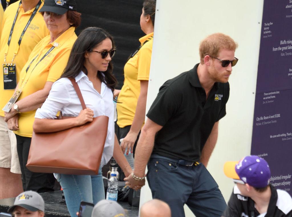Принц Гарри представил публике свою возлюбленую