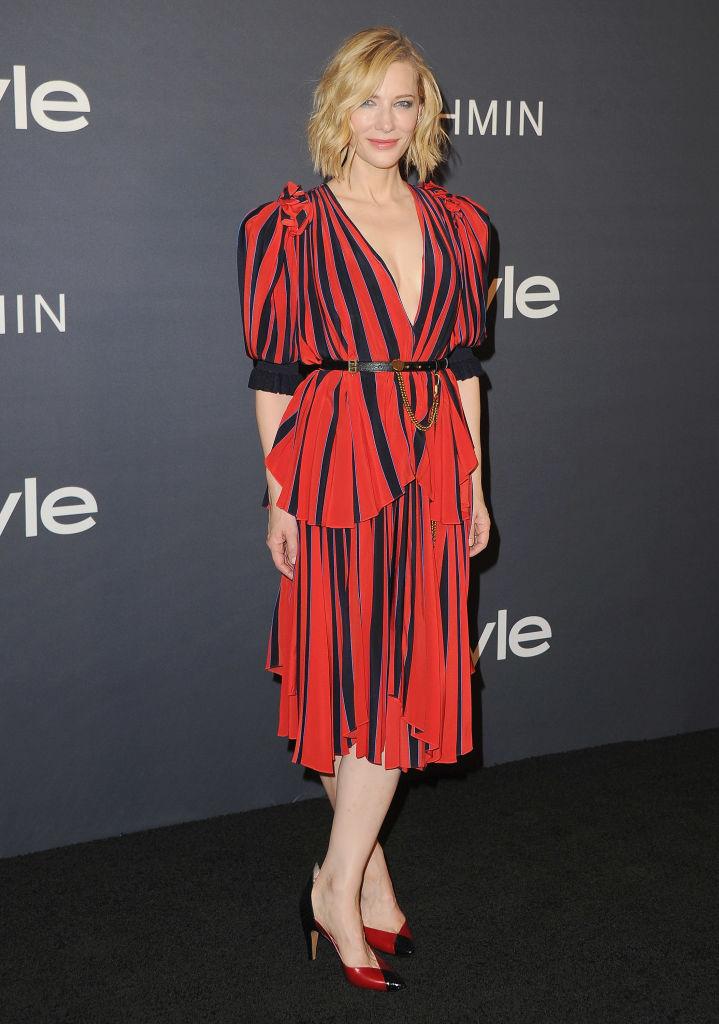 Синди Кроуфорд, Хайди Клум, Селена Гомес и другие звезды блистают на премии InStyle