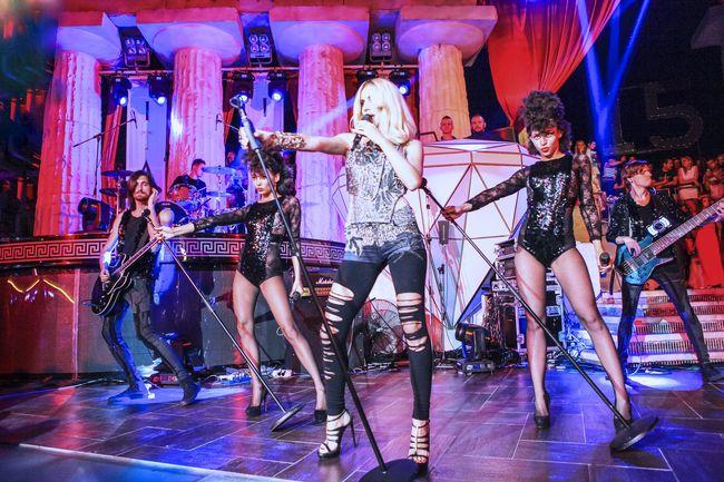 Светлана Лобода на концерте в Одессе