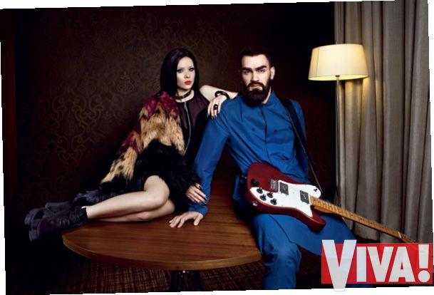 Солистка The Hardkiss Юлия Санина и Вал Бебко
