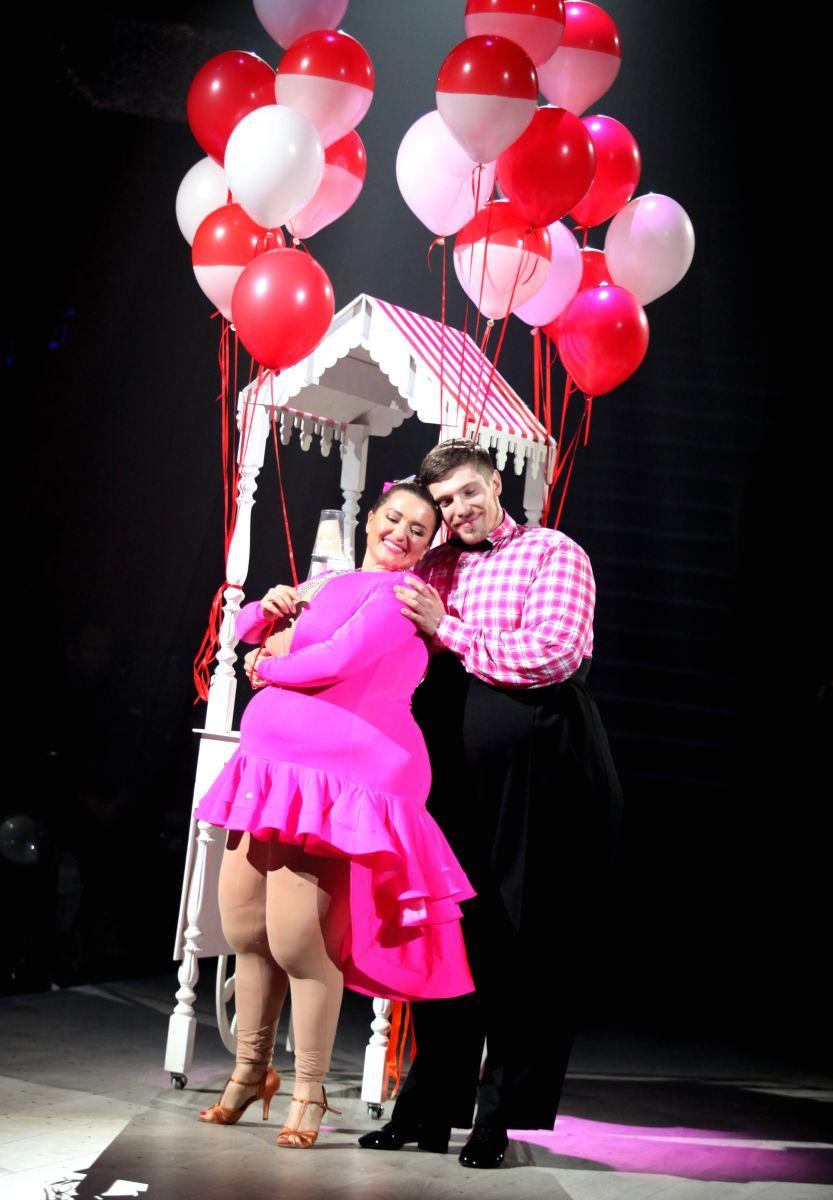 """+ 100 килограммов веса: Наталья Могилевская удивила образом толстушки в шоу """"Танці з зірками"""""""