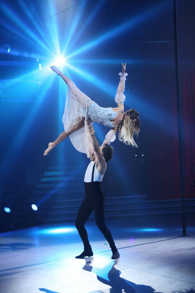 Просто вау: Надя Дорофеева и Женя Кот взорвали зал экстремальным и невероятно трогательным танцем