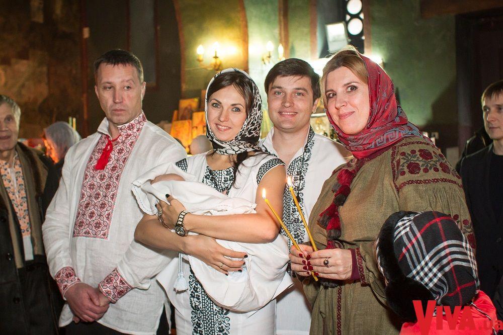 Ведущий Фактов Андрей Ковальский окрестил сына
