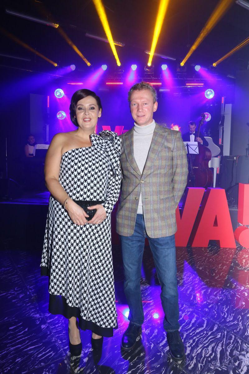 Иванна Слабошпицкая и Дмитрий Перетрутов