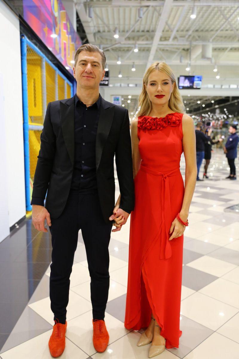 Ольга Горбачева и Юрий Никитин впервые вышли в свет после громкой свадьбы